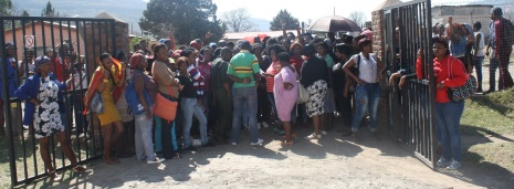 Students of a Seta project in Ezibeleni have gone on strike after the company charged with implementing the project allegedly failed to pay their stipends Picture: ZOLILE MENZELWA