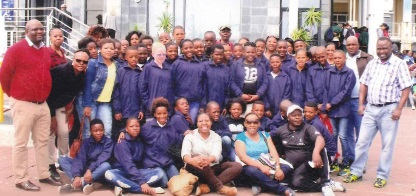 Staff and pupils from Edlelweni Primary School enjoyed their excursion in Cape Town