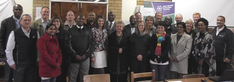 LEARNING ALL THE TIME: Teachers from schools in Komani, King William's Town and Port Alfred attended the launch of a technology-linked maths and science support programme, running at eight schools in the Border region