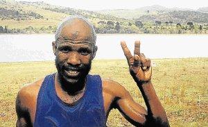 Luthando Hejana, winner of the 2015 Twizza Bonkolo marathon, aims to do the same again  Picture: SONJA RAASCH