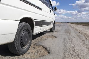 Potholes - a danger on the roads  Picture: SUPPLIED